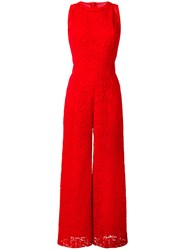 Ermanno Scervino Lace Flared Jumpsuit