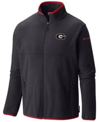 Columbia Men's Georgia Bulldogs Fuller Ridge Fleece Jacket Black
