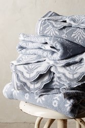 Anthropologie Hanna Towel Collection Light Grey