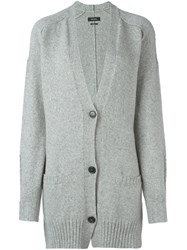 Isabel Marant 'Farah' Long Cardigan Grey