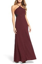Vera Wang Women's Stretch Bias Cut Gown
