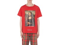 Off White C O Virgil Abloh Temperature Cotton T Shirt Red