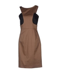 Bgn Short Dresses Khaki