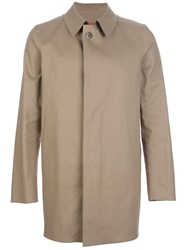 Herno Classic Trench Coat Brown