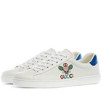 Gucci New Ace Tennis Bee Sneaker White