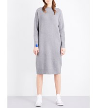 Chocoolate Oversized Knitted Dress Grey