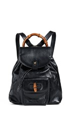 Wgaca What Goes Around Comes Around Gucci Small Backpack Black