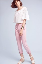 Anthropologie Relaxed Chino Pants Lavender