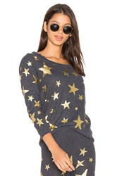 Chaser Starry Night Tee Charcoal