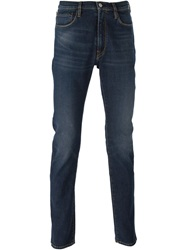 Paul Smith Jeans Five Pocket Design Jeans Blue
