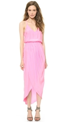 Amanda Uprichard Cricket Maxi Dress Shocking Pink