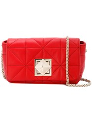 Sonia Rykiel Chain Strap Shoulder Bag Red