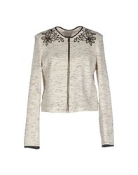 Pinko Grey Topwear Sweatshirts Women