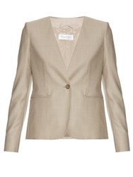 Max Mara Colonia Tailored Jacket Beige