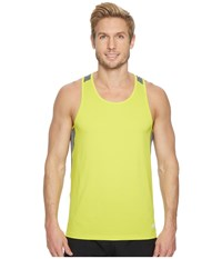 Asics Run Singlet Sulphur Springs Sleeveless Yellow
