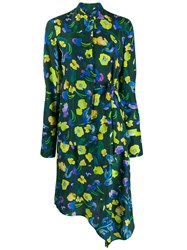 Christian Wijnants Floral Dress Green