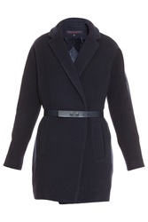 Martin Grant Belted Wrap Coat