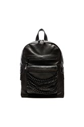 Ash Domino Small Backpack Black