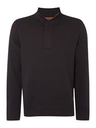 Army And Navy Jones Quilted Jersey Jumper Charcoal