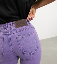Reclaimed Vintage Inspired The '89 Tapered Jean In Pink Wash