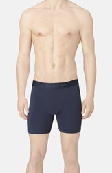 Men's Calvin Klein Stretch Boxer Briefs Blue Shadow