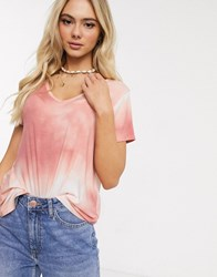 Hollister Cosy Slouchy T Shirt Pink