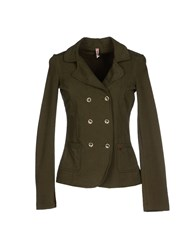 Met Suits And Jackets Blazers Women Grey
