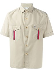Christian Dior Vintage Short Sleeve Shirt Nude And Neutrals