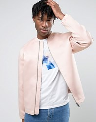 Weekday Complement Bomber Jacket 37 119 Pink