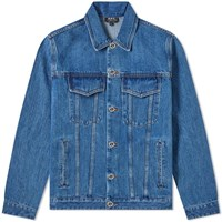 A.P.C. Charles Denim Jacket Blue