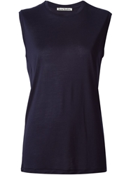 Acne Studios Sleeveless Tank Blue