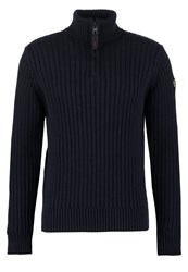 Schott Nyc Jumper Navy Dark Blue