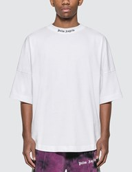 Palm Angels Classic Logo Oversized T Shirt White