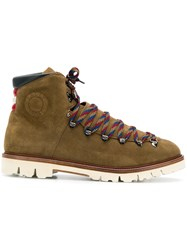 Bally Chack Hiking Boots Green