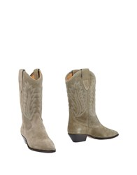 Etoile Isabel Marant Boots Military Green