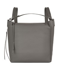 Allsaints Small Leather Kita Backpack Grey