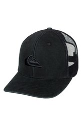 Quiksilver Grounder Trucker Hat Black