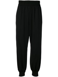 Marc Jacobs Tapered Harem Trousers Black
