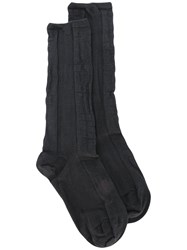 Y 3 In And Out Socks Black