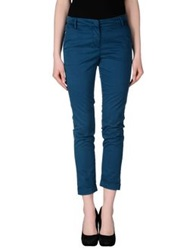 Manila Grace Denim Casual Pants Deep Jade