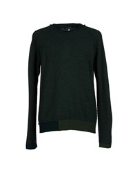 Gianfranco Ferre Gf Ferre' Knitwear Jumpers Men Dark Green