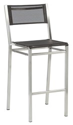 Barlow Tyrie Equinox High Dining Side Chair Charcoal 500 Black