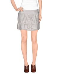 Hoss Intropia Mini Skirts Light Grey