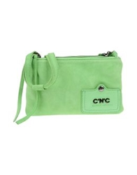 Cnc Costume National C'n'c' Costume National Medium Leather Bags Light Green