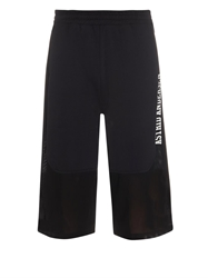 Astrid Andersen Jersey And Mesh Track Shorts