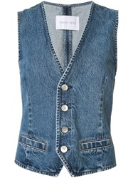 Nobody Denim Studio Gilet Blue