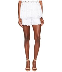Kate Spade Spice Things Up Eyelet Shorts Fresh White Women's Shorts Multi