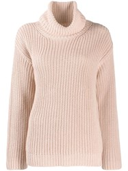 Red Valentino I Have A Crush On You Knit Sweater Pink