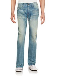 True Religion Straight Leg Faded Jeans Cirmcumstance Slow