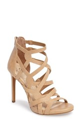 Jessica Simpson Women's Rainah Sandal Buff Leather